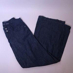 Michael Kors Wide Leg Jeans, Size 2